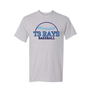 * PREORDER * T3 Rays Official Tee *Preorder*