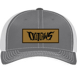 Outlaws Leather Patch Curved Brim (preorder)