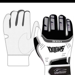 Outlaws Fastpitch Batting Gloves (preorder)